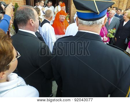 Piekary Sl, Poland - May 31: Cardinal Gerhard Muller, Prefect Of The Congregation For The Doctrine O