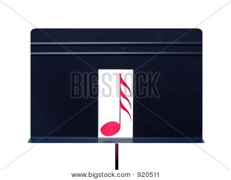 Music Stand With Musical Note
