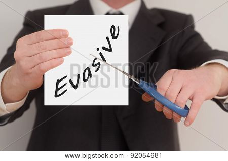 Evasive, Determined Man Healing Bad Emotions