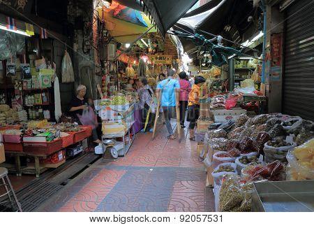Local market Bangkok Thailand