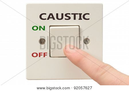 Anger Management, Switch Off Caustic
