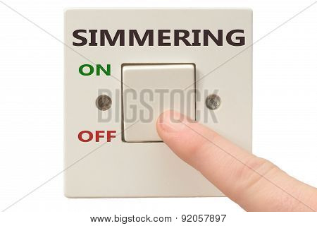 Anger Management, Switch Off Simmering