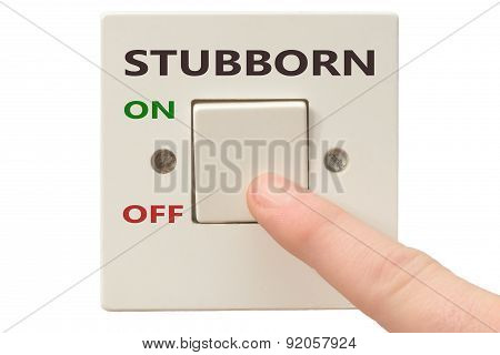 Anger Management, Switch Off Stubborn