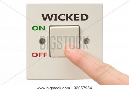 Anger Management, Switch Off Wicked