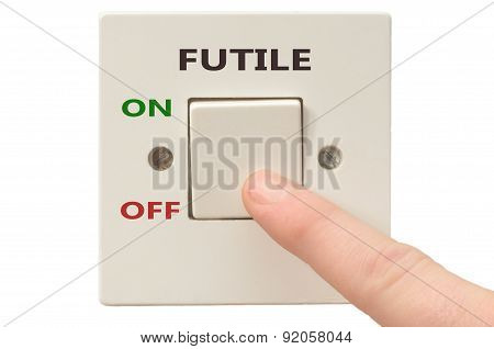 Dealing With Futile, Turn It Off