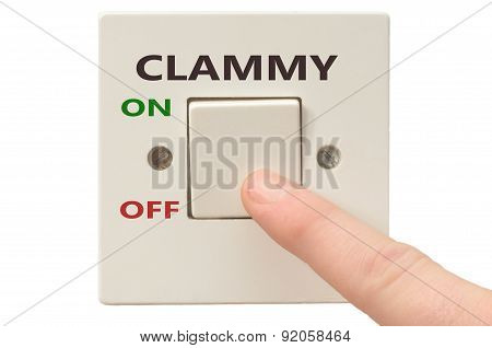 Dealing With Clammy, Turn It Off