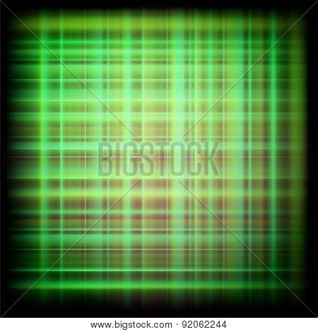 Abstract dark green plaid textures design illustration