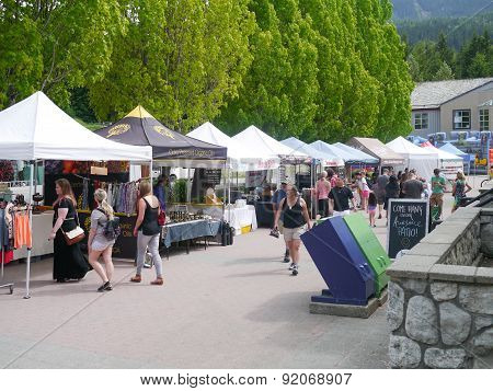 Whistler's weekly Sunday Farmers Market