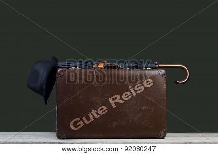Baggage; Suitcase; Umbrella And Hat;