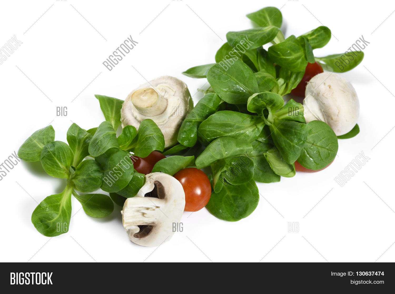 Fresh Garden Salad Image Photo Free Trial Bigstock