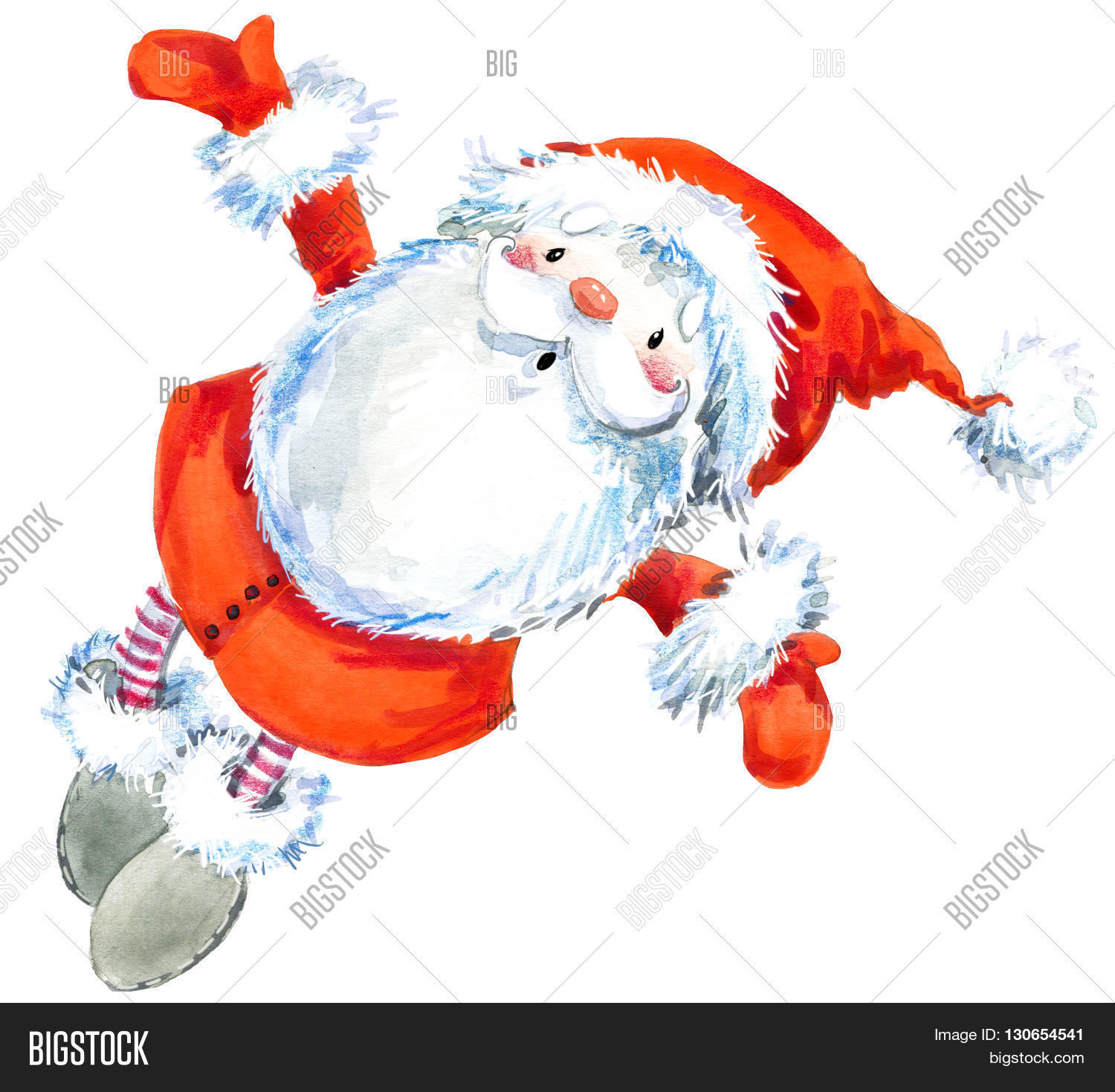 Santa Clause. Funny Image & Photo (Free Trial) | Bigstock