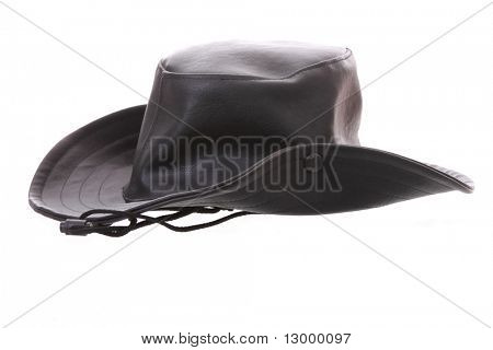 Leather Cowboy hat for girls