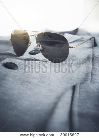 Sunglasses on suit Clothing Hipster lifestyle Fashion