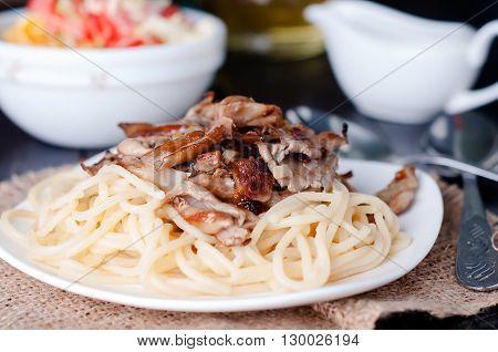 Pasta With Mushroom