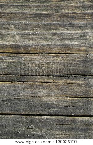 Texture old grunge wooden wall used as background