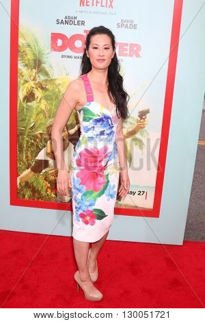 LOS ANGELES - MAY 16:  Olivia Cheng at the The Do-Over Premiere Screening at the Regal 14 Theaters on May 16, 2016 in Los Angeles, CA