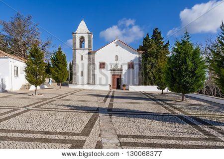 Church of the Sesimbra Castle, Portugal
