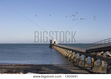 Lifeboat Station  Out To Sea