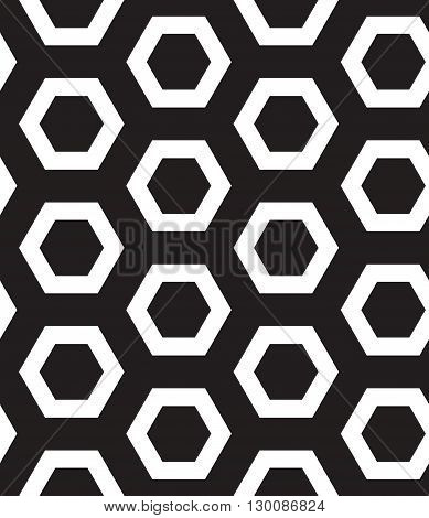 Vector Seamless Pattern. Modern Clasical Texture. Repeating Geom