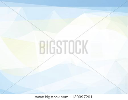 Abstract   polygonal mosaic modern business background - Illustration