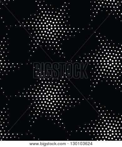 Vector Abstract Geometric Seamless Pattern. Repeating Gradation