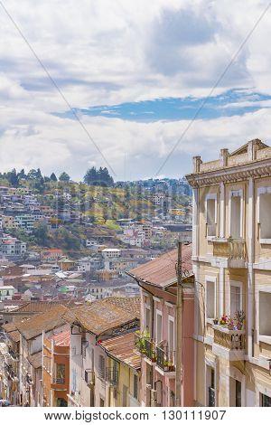 Historic Center Of Quito Ecuador