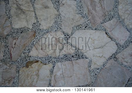 Patterned on natural stone floors accumulated for.