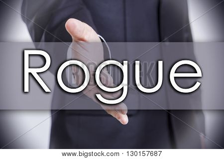 Rogue - Business Concept With Text