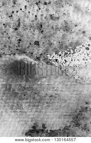 Black and White Macro Watercolour Textures