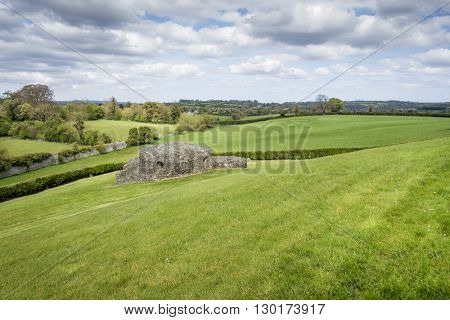 An image of a scenery near Newgrange Ireland