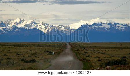 Dirt Road To Perito Moreno