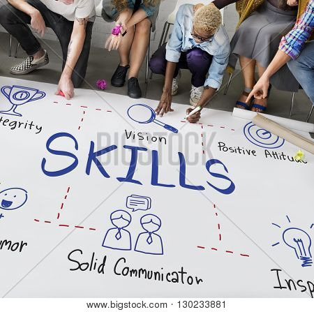 Skills Intelligence Job Occupation Recruitment Concept
