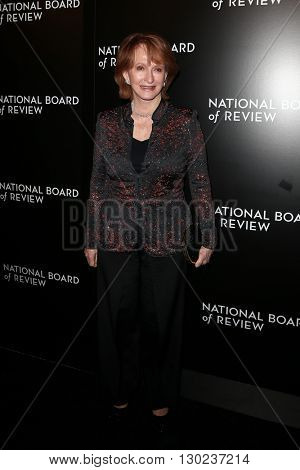 NEW YORK-JAN 5: William K. Everson Film History Award Winner Ceilia De Mille Presley attends the 2015 National Board of Review Gala at Cipriani 42nd Street on January 5, 2016 in New York City.