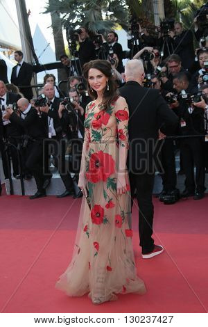 Frederique Bel attends a screening of 'Julieta' at the annual 69th Cannes Film Festival at Palais des Festivals on May 17, 2016 in Cannes, France.