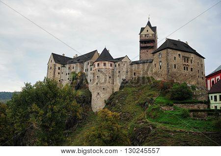 Beautiful castle in the Czech Republic - Loket