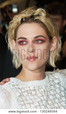 Kristen Stewart attends the 'Personal Shopper' premiere at the 69th Festival de Cannes. May 17, 2016  Cannes, France