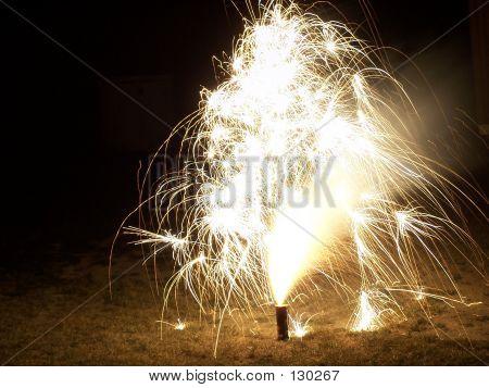 Fogos de artifício brilhantes III