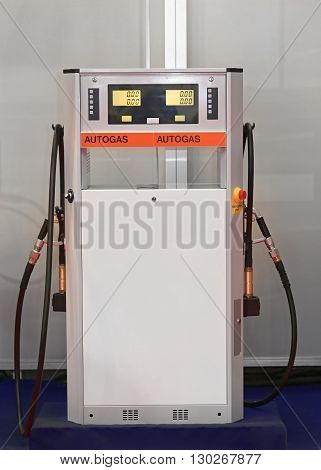 Liquified Petroleum Gas Pump at Filling Station