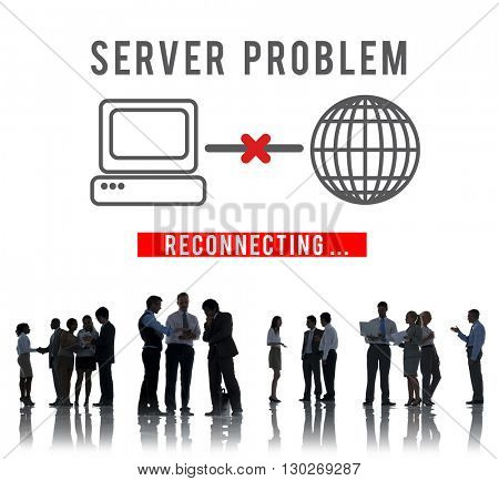 Server Problem Failure Difficulty Complication Concept