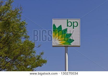 Indianapolis - Circa May 2016: BP Retail Gas Station. BP is One of the World's Leading Integrated Oil and Gas Companies II