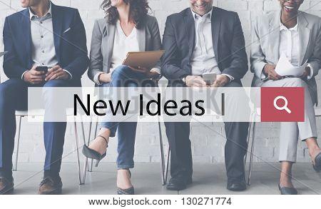 New Ideas Creative Current Development Modern Concept