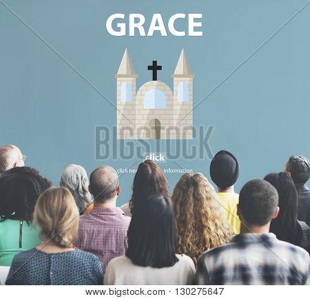 Grace Hope Poise Spiritual Worship Faith God Concept