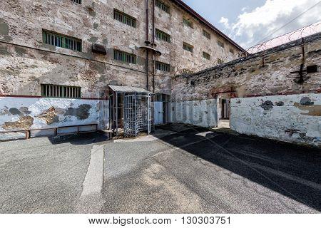 Perth - Australia - August, 20 2015 - Fremantle Prison Is Now Open To The Public