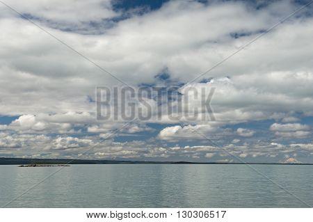 Homer Alaska Volcano View