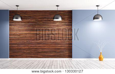Interior Background 3D Rendering