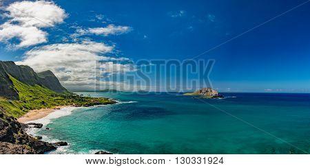 Oahu East Coast View Landscape