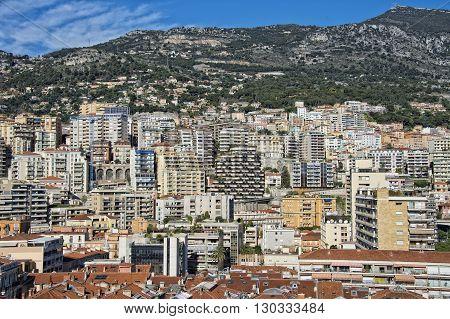 Montecarlo Monaco Panorama