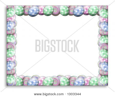 Easter Egg Frame Horizontal