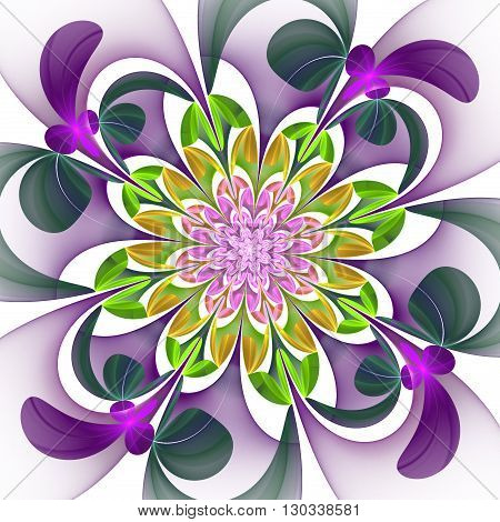 Fabulous multicolored flower pattern. You can use it for invitations notebook covers phone case postcards cards wallpapers and so on. Artwork for creative design art and entertainment.