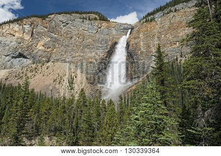 Takkakaw Falls In Banff Yoho Park